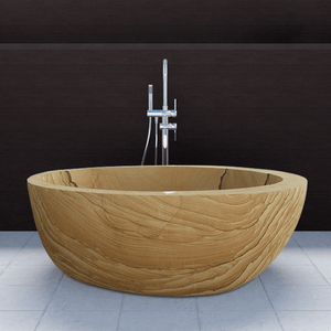 "72"" Irwin Stone Slipper Tub"