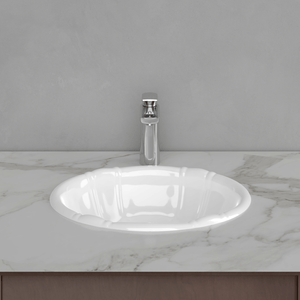 Afton Vitreous China Drop-In Sink