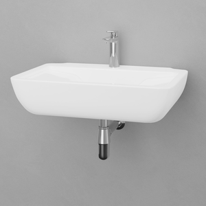 Alba Vitreous China Wall-Mount Bathroom Sink
