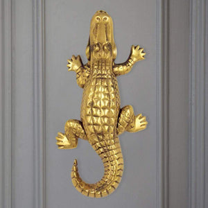 Alligator Door Knocker - Large