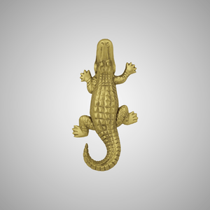 Alligator Door Knocker - Small