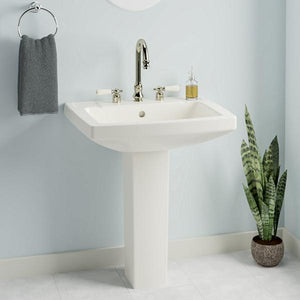 Altha Vitreous China Pedestal Sink