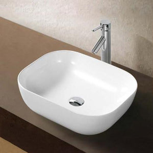 Amos Oval Vitreous China Vessel Sink
