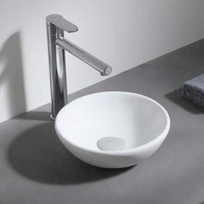 Askov Vitreous China Round Vessel Sink