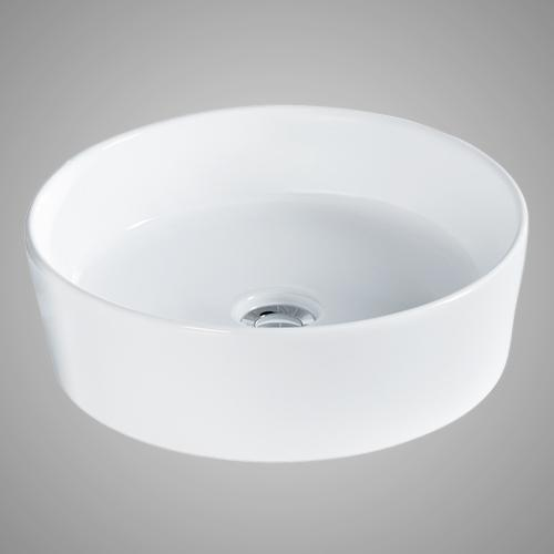 Athena Vitreous China Round Vessel Sink