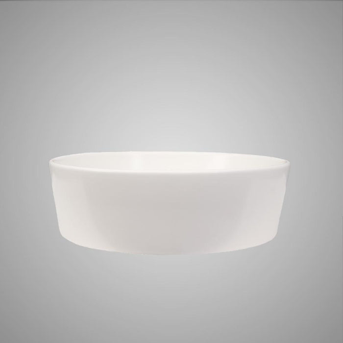 Athena Vitreous China Round Vessel Sink - Matte White