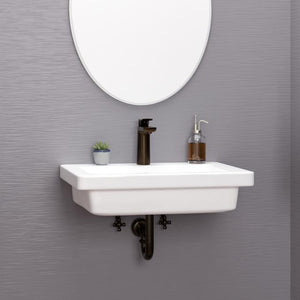 Aurora 200 Vitreous China Wall-Mount Sink
