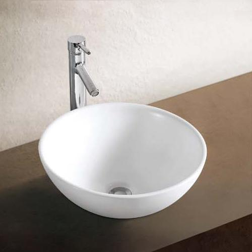 Barrie Vitreous China Round Vessel Sink
