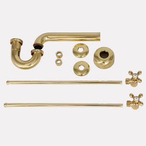 Bathroom Trim Kit for Threaded Pipe - From Wall