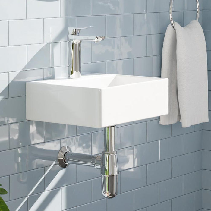Bera Vitreous China Wall-Mount Sink