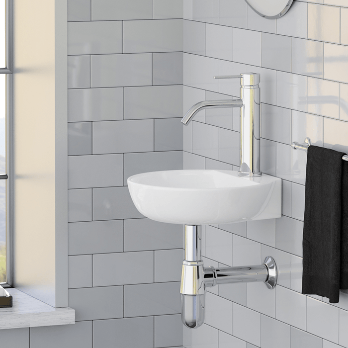 Bestla Vitreous China Wall-Mount Sink