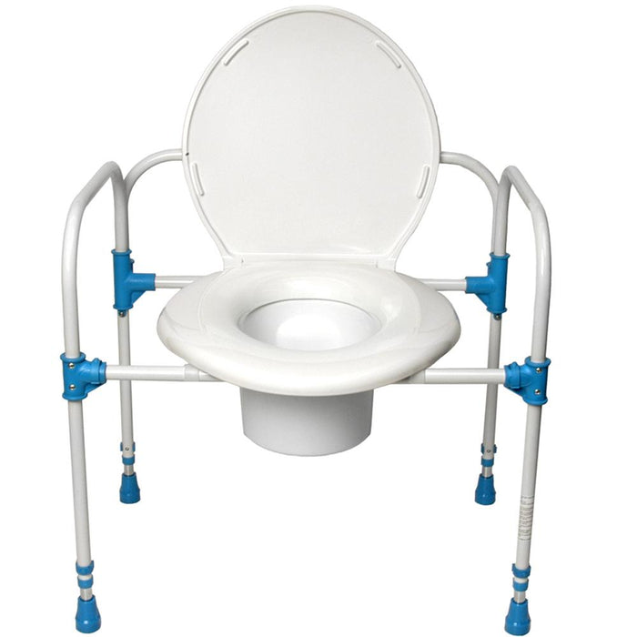 Big John Bariatric Commode Chair - 800-Pound Weight Capacity