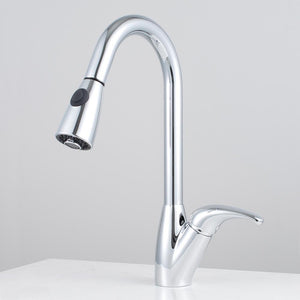 Blakeny Single-Hole Pull-Out Kitchen Faucet