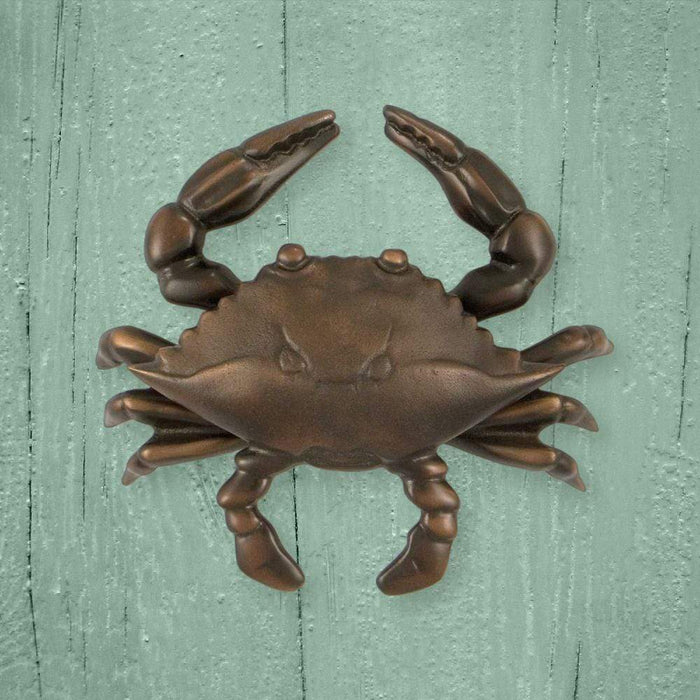 Blue Crab Door Knocker - Large