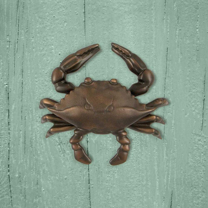 Blue Crab Door Knocker - Small
