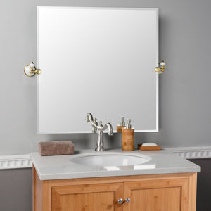 Burke Square Tilting Mirror