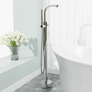 Burlison Freestanding Tub Faucet with Hand Shower
