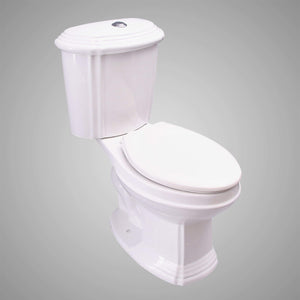 Burns Dual-Flush Two-Piece Toilet - ADA Height