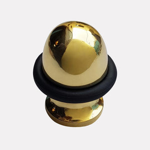 Cast Brass Domed Design Doorstop