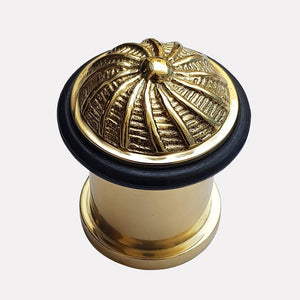 Cast Brass Ornate Design Doorstop