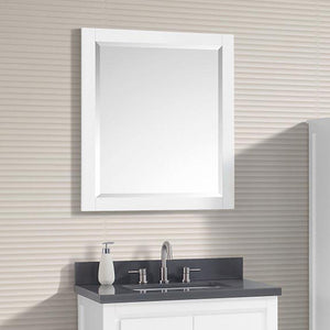 Chelan Framed Vanity Mirror - White