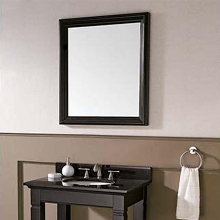 Cheney Framed Vanity Mirror - Light Charcoal