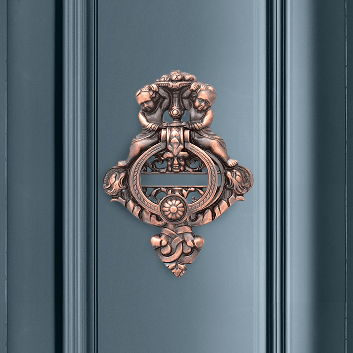 Cherubs Door Knocker