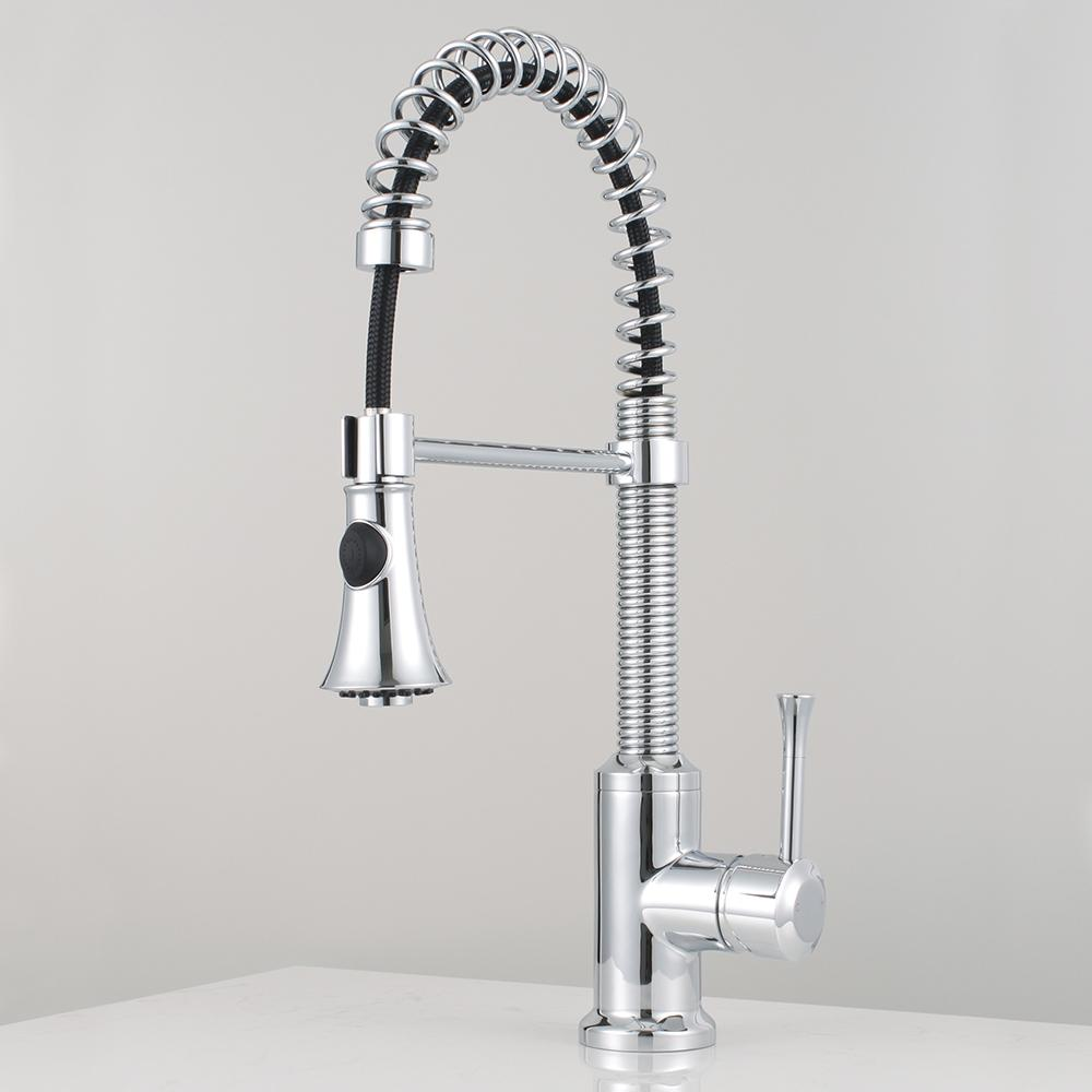 Claremont Pull Down Kitchen Faucet with Spring Spout – Magnus Home