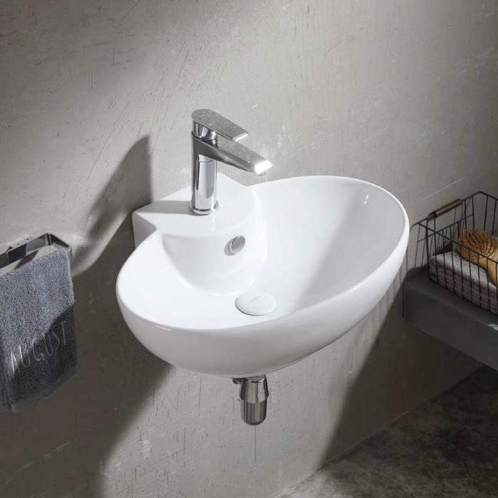 Coloma Vitreous China Wall-Mount Bathroom Sink