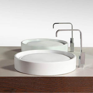 Conover Vitreous China Round Vessel Sink
