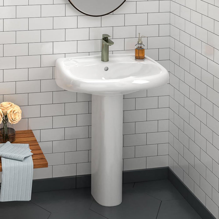 Conway Vitreous China Pedestal Sink