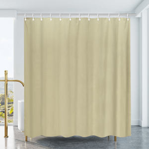 Cotton Duck Shower Curtain - Natural
