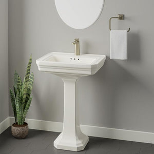 Crivitz Vitreous China Pedestal Sink