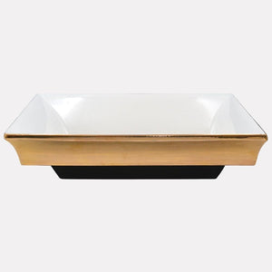 Cruger Handcrafted Fireclay Semi-Recessed Sink