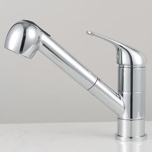 Cullman Single-Hole Pull-Out Kitchen Faucet