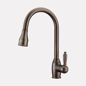 Dalston Single-Hole Pull-Down Kitchen Faucet