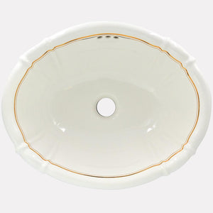 Darbun Handcrafted Porcelain Drop-In Sink