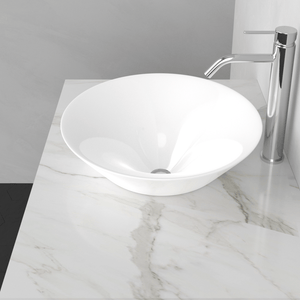 Dassel Vitreous China Semi-Recessed Sink