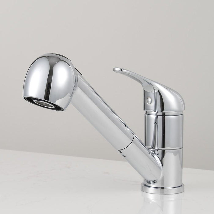 Davison Single-Hole Pull-Out Kitchen Faucet