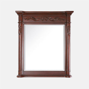 Deary Framed Vanity Mirror - Antique Cherry