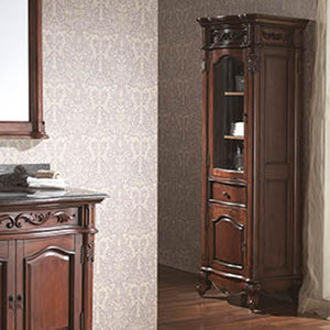 Deary Linen Tower - Antique Cherry