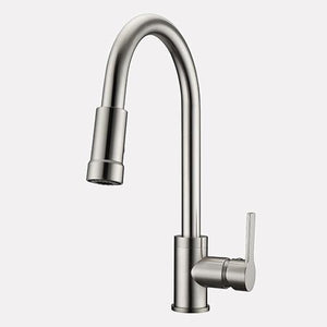 Doolin Single-Hole Pull-Down Kitchen Faucet
