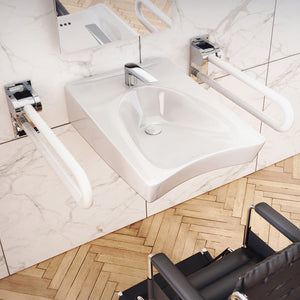 Belzoni Rectangular Cast Concrete Vessel Sink - Dusk Grey