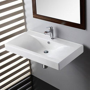 Drake Vitreous China Wall-Mount Bathroom Sink
