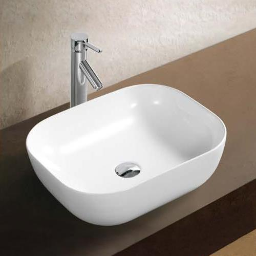 Dryden Vitreous China Square Vessel Sink
