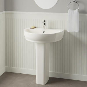 Dublin 100 Vitreous China Pedestal Sink