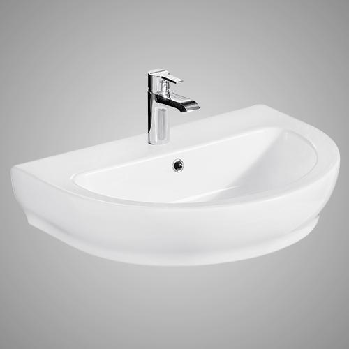 Dublin 100 Vitreous China Wall-Mount Sink