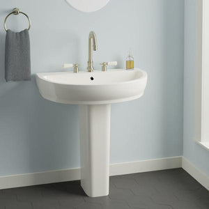 Dublin 200 Vitreous China Pedestal Sink