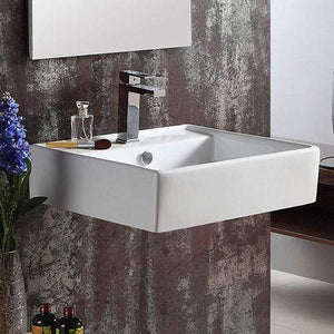Duluth Vitreous China Wall-Mount Bathroom Sink