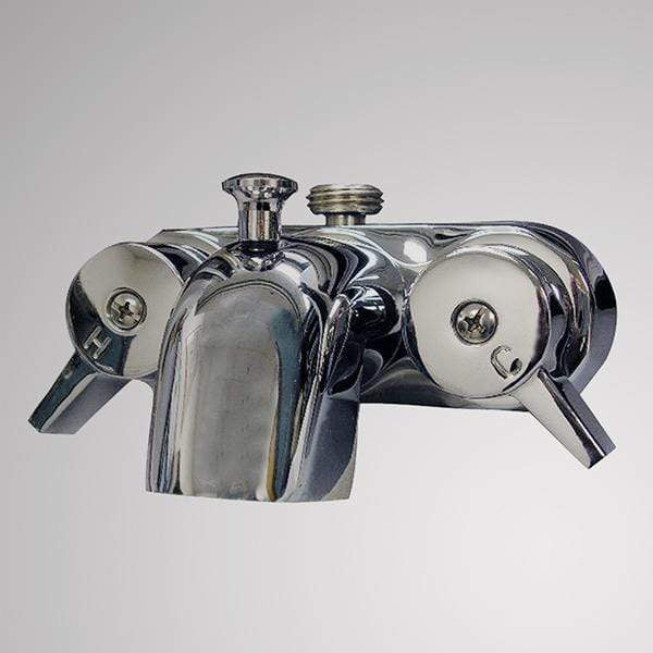 Economy-Style Diverter Tub Faucet with Male Connection